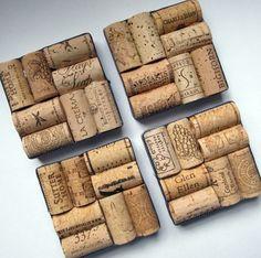 basteln mit korken bastelideen deko ideen diy ideen tablett aus korken wein zum untersetzer