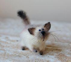 Katze Kunst Puppe Katze Liebhaber Geschenk Valentinstag