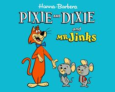 toon025 - Pixie and Dixie and Mr. Jinks / Title card / Hanna Barbera (1958)