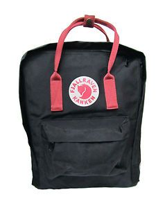 "Fjallraven Kanken Classic 15"" Backpack Ox Red Black Ox Red Forest Ox Red 