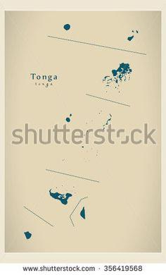 Modern Map - Tonga TO