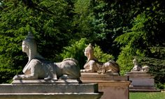 Sphinx at Chiswick House Gardens