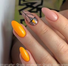 New nail art trends bring you unlimited nail design inspiration - Page 75 of 117 - Inspiration Diary Neon Nail Art, Neon Nails, Beautiful Nail Designs, Cute Nail Designs, Basic Nails, Japanese Nail Art, Nail Patterns, Types Of Nails, Accent Nails