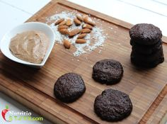 PALEO CHOCOLATE COCONUT EGG, DAIRY, GLUTEN AND GRAIN FREE MINI BISCUITS