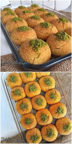 Dessert recipes Source by Arabic Sweets, Fruit Tart, Pastry And Bakery, Christmas Appetizers, Turkish Recipes, Yummy Food, Good Food, Snacks, Great Recipes