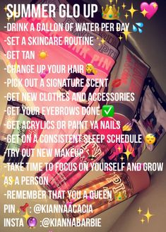 glo up Girl Life Hacks glo kia kiannaacacia kiannabarbie summerskincare hacks for teens girl should know acne eyeliner for hair makeup skincare Beauty Tips For Glowing Skin, Clear Skin Tips, Health And Beauty Tips, Beauty Skin, Life Hacks For School, Girl Life Hacks, Girls Life, High School Tips, Summer Life Hacks