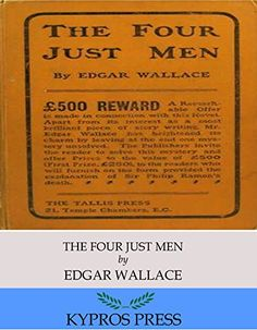 The Four Just Men by Edgar Wallace Hardcopy 1905