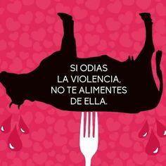 Se você não gosta de violência,não se alimente dela.