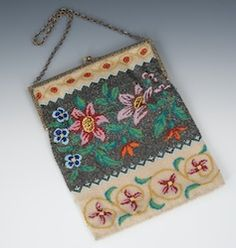 Beaded purses! Life is too short not to carry a beaded purse somedays!