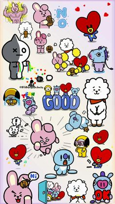 BT21 is coming !!