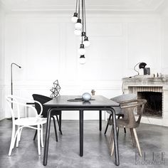 Statement Lighting Can Help Create A Central Feature In An Open Plan Space This
