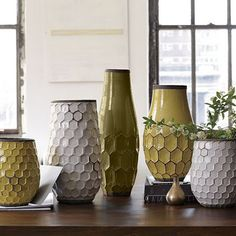 Hive Vase -- West Elm Knock Off ~ * THE COUNTRY CHIC COTTAGE (DIY, Home Decor, Crafts, Farmhouse)