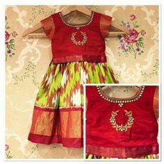 Multi Designer Brand for Indian Apparel & Jewelry Frocks For Girls, Dresses Kids Girl, Girl Outfits, Kids Dress Wear, Kids Gown, Kids Wear, Kids Frocks Design, Baby Frocks Designs, Kids Ethnic Wear