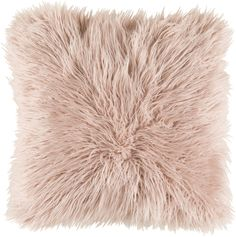 Art of Knot Camberwell 18 inch x 18 inch Pillow Cover, Pink Blush Pillows, Fur Pillow, Blush Throw, Accent Pillows, Dorm Pillows, Rose Gold Throw Pillows, Pillow Room, Knitted Throws, My New Room