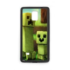 Case for Samsung Galaxy Note 4 Minecraft Creeper Together