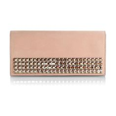 Suede Crystal embellishment evening clutch