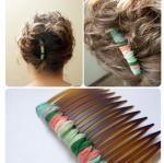 CUTE DIY hair comb
