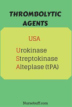 Thrombolytic Agents