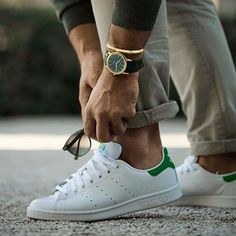 Citizen Eco-Drive Men's Watch with Brown Dial Chronograph Display and Brown Leather Strap Stylish Saturdays // urban men // watches // mens fashion // gym life // menswear // Fashion Mode, Urban Fashion, Mens Fashion, Fashion Shoot, Fashion Trends, Adidas Stan Smith, Stan Smith Men, Stan Smith Outfit, Stylish Men