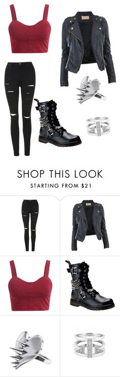 Baby now we got bad blood by daughterofspace on Polyvore featuring CO, Topshop, Demonia, CC SKYE and LUSASUL
