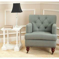 Safavieh Manchester Green Tufted Club Chair