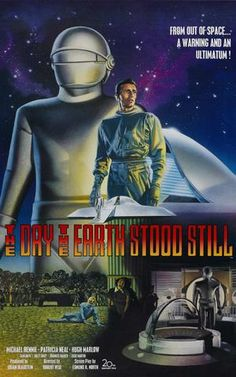 The Day The Earth Stood Still 27x40 Movie Poster (1951)