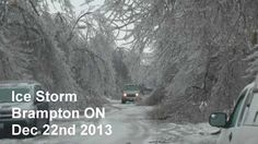 Westminster, Toronto, First Day Of Winter, Ice Storm, Geography, Ontario, My Life, December, Canada