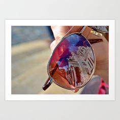 Reflection Art Print by Sasha Sommer - $33.28