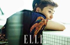 pic of park seo joon | Actor Park Seo Joon had his photo shoot for the July issue of ' Elle ...