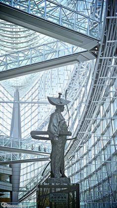 """江戸の開祖、太田道灌。明治維新で """"東京"""" と名の変わった江戸を… 見つめています。 Dokan Ota was the famous samurai…"""