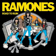 Ramones Road To Ruin: Anniversary Vinyl LP + Deluxe Edition Of Ramones' Fourth Album Featuring Two Mixes Of Original LP, Plus Unreleased Ramones, Joey Ramone, Rock Posters, Vinyl Lp, Vinyl Records, Vinyl Music, Brenda Ann Spencer, Hard Rock, My Sharona