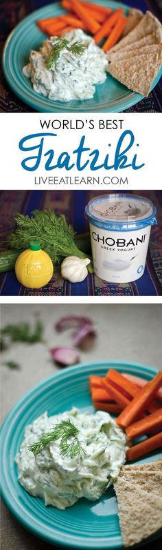 This healthy and refreshing tzatziki recipe is a simple and classic Greek sauce…