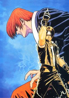The King of Fighters SNK, Art by Toshiaki Mori (Shinkiro). Art Of Fighting, Fighting Games, Comic Book Artists, Comic Artist, Game Character, Character Design, Snk King Of Fighters, Japanese Warrior, Video Game Art