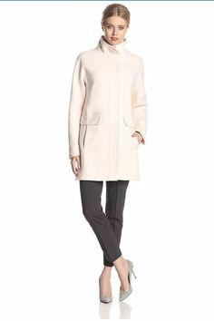 dd7f8223ae1d Vince Camuto Womens Coat Jacket M Blush NWT $298 #fashion #clothing #shoes #