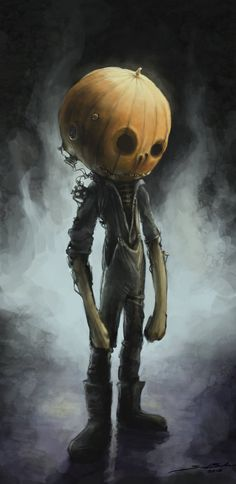 Jack Pumpkinhead by Sam Balzer