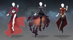 (CLOSED)Adoptable Outfit Auction -Legends of Stars by Risoluce on DeviantArt