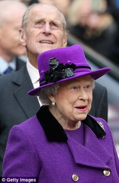 Queen Elizabeth II and Prince Phillip at Southwark Cathedral 21st November 2013