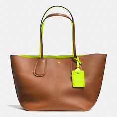 The C.o.a.c.h. Taxi Tote In Double Faced Pebble Leather from Coach