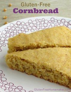 Gluten-Free Cornbread at The Gluten-Free Homemaker