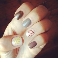 We are really loving the fall nail ideas, are you?  Share and like any of our posts this month (must do both) to be entered to win free set of eyelash extensions and 2nd place gets a free manicure! Drawing 11/1/14 #manicure #pedicure #nails #asheville