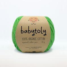 Babytoly Organic Cotton Yarn, Yarn Colors, Free Knitting