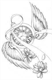 Image result for clock sketch