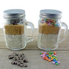 Trinkglas mit Deckel Vintage Cookies im Glas Kuchen Einmachglas Glas Gläser in…