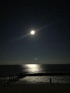 Full Moon. God is the Greatest! Cape May, NJ