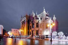 Киев, дом с химерами. фото: Олег Стельмах