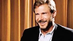 Harrison Ford promoting Raiders of the Lost Ark in a French interview, 1981.