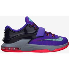 KD VII ❤ liked on Polyvore featuring shoes, sneakers, kd, nike, women shoes and famous footwear
