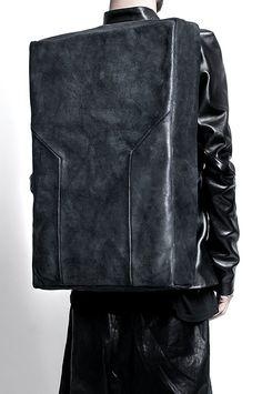 AZU rectangular backpack   Architect's Fashion