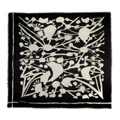 The Ascher scarf collection for spring/summer 2011- reissue of vintage design Trellis by Graham Sutherland
