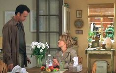 Tom Hanks and Meg Ryan You've Got Mail daisies. What a great movie :)